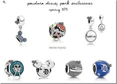 A while back we revealed some of the new Disney Pandora charms coming our way this spring 2015.