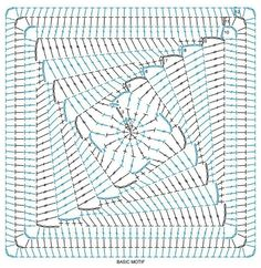 diagram. Interesting granny square