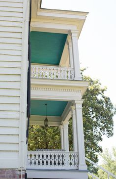 HOME & GARDEN Perfect Porch Ceiling Colors Some of the country's most talented designers, architects, and historic color experts share their favorites