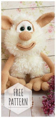 Free Crochet Bunny Pattern | Crochet bunny pattern, Crochet rabbit, Crochet  bunny | 495x236