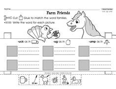 word family packet  ump  free  1st grade  pinterest  &