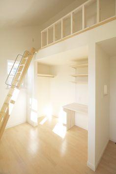 ロフト/子供部屋/注文住宅/インテリア/ジャストの家/loft/natural/design/interior/house/homedecor