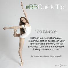 BB Quick Tip – Find Balance   Ballet Beautiful