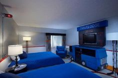 how excited would Liam be if this was his new room??? Travelodge in Saskatoon!
