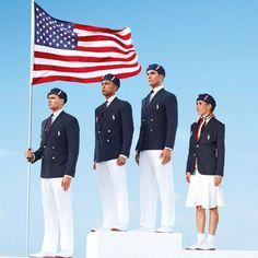 U.S. Olympic Uniforms by Ralph Lauren #waywire #olympics2012