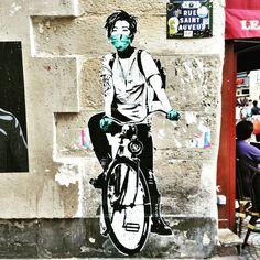 Eddie Colla - street art paris 2 - rue st sauveur juin 2015