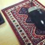 A mouse prayer mat!