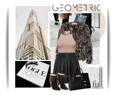 """""""Geometric"""" by emeliet ❤ liked on Polyvore featuring Ciao Bella, Karl Lagerfeld, N°21, NLY Trend, Alice + Olivia and Michael Kors"""
