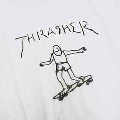 THRASHER Tシャツ・カットソー スラッシャーより注目商品★マーク・ゴンザレス コラボTシャツ(3)