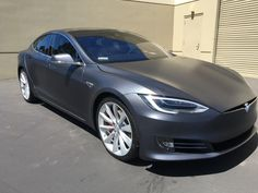 """Vendor - Model S with Xpel Stealth PPF - """"Frozen"""" Midnight Silver 