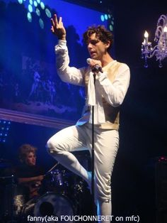 Mika on stage looking amazing, as usual in Liège, Belgium @ Festival Les Ardentes - 10 July 2011