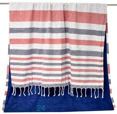 Telo mare pareo balubali 100% cotone da un lato e morbida microspugna dall'altro. www.biancheria24.it