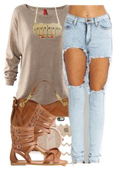 """""""Hand In Hand"""" by polyvoreitems5 ❤ liked on Polyvore featuring H&M, Michael Kors, Casetify, ALDO, LOTTA and Nine West"""