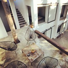 """BBC Boracay says: """" We love the chairs - organic form and light weight construction.. Great idea are also the barn door windows.."""""""
