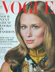 Lauren Hutton by Irving Penn Vogue US July 1968