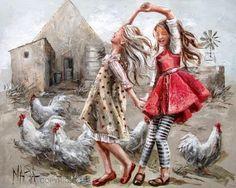 Hobilerim-begendiklerim (cam ve ahşap boyama, örgü, keçe, tasarım): Yağlı boya tablolar