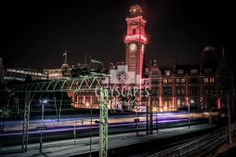 http://www.cityscapesmanchester.co.uk/Manchester/Manchester-City-Centre/Palace-Hotel-by-night-%E2%80%93-Oxford-Road-Train-Station-canvas-print Palace Hotel Night Long Exposure Oxford Road Train Station Manchester Cityscape Quality Canvas Prints