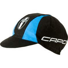 Capo cycling cap, blue and black o not i thing you are going to look too hot for the podium shot