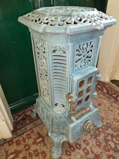 Art Nouveau, Art Deco, French Stove, Foyers, Wood Stove Cooking, Old Stove, Cast Iron Stove, Vintage Stoves, Antique Stove