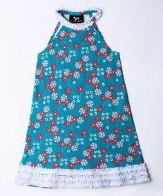 Love this Koi Pinwheel Ruffle Bertoia Swing Dress - Toddler & Girls on #zulily! #zulilyfinds