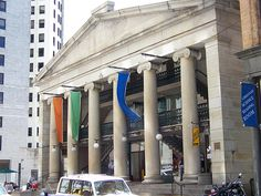 The Westminster Arcade, Providence, Rhode Island, the oldest standing enclosed shopping mall in America, built in The Arcade is still a functional shopping center in Providence. Providence Place, Rhode Island History, New England States, Newport Rhode Island, Seaside Towns, Vacation Places, Where To Go, Beautiful Beaches, Cool Places To Visit
