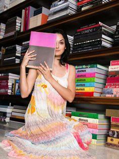Jenna Elizabeth wears Missoni. Shop Missoni at LINEAFASHION.COM. #JennaElizabeth #missoni #fashion #womenswear #aw15 #crochet #knitwear