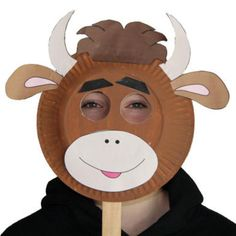 How to Make a Cow Mask