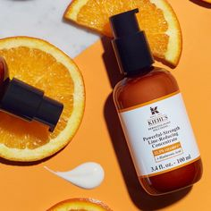 Shop Kiehl's Since Powerful-Strength Line-Reducing Concentrate Vitamin C at Sephora. This vitamin C face serum reduces the look of fine lines and wrinkles. Dark Circle, Vitamin C Face Serum, Serum Anti Age, Nordstrom Half Yearly Sale, Kiehl's Since 1851, Acide Aminé, Anti Ride, Antioxidant Vitamins, Facial Cream