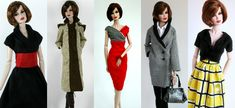 Stylish handmade clothes for Barbie, Silkstone and Fashion Royalty Dolls.