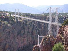 Royal Gorge Bridge, near Canon City, Colorado