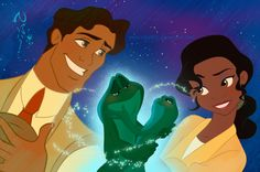 *NAVEEN/THE FROG & TIANA ~ The Princess and the Frog, 2009