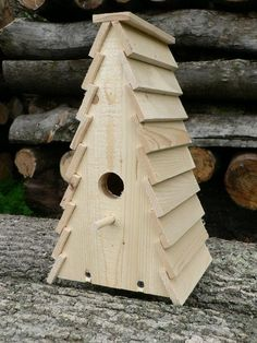 Wooden Birdhouse The Shack by TheBirdShackShop on Etsy Wood Bird Feeder, Bird House Feeder, Bird Feeders, Bird House Plans Free, Bird House Kits, Birdhouse Designs, Bird Houses Diy, Bluebird Houses, Bird Aviary