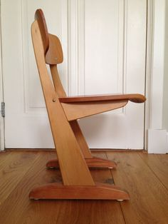 VTG Waldorf // CASALA // Plywood Childs Chair by TrackofTime