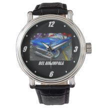 1958 Bel Air Impala Convertible Wrist Watches