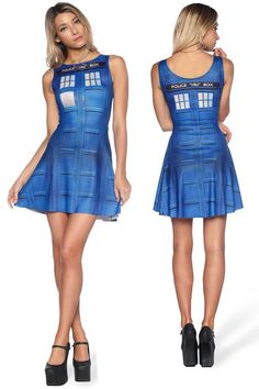 Doctor Who TARDIS Play Dress