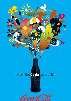 All sizes | Coke Side of Life: Coca-Cola Art Remix | Flickr - Photo Sharing!