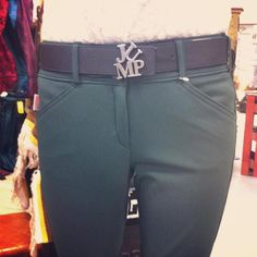 Dark Green Tailored Sportsman breeches and that belt Equestrian Chic, Equestrian Outfits, Tailored Sportsman, Clothes Horse, Riding Clothes, Riding Gear, Show Horses, Leather Pants, Black Forest