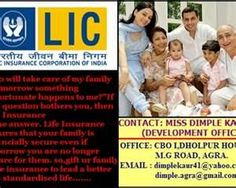 Life Insurance Agra offers several policies catering to various needs of the policy holders like child education, retirement funds, high returns. Apply Online http://www.dialabank.com/article.cfm/articleid/2798  / Call 98 78 98 11 66