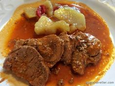 Prueba de cerdo ibérico. http://www.piggytraveller.com/trujillo-restaurante-la-sonata/