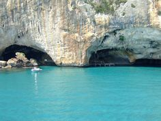 Sardinia. I wanna go snorkling in these under water caves.