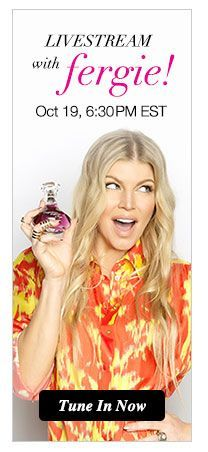 Join the Party! Tune in to our live video stream with Avon Global Brand Ambassador Fergie on Monday, October 19th at 6:30PM EST. We'll be chatting about the launch of Fergie's latest fragrance, Outspoken Party! by Fergie, highlight women empowerement and some of the latest advancements in breast health in honor of Breast Cancer Awareness Month.