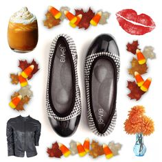 Houndstooth - the perfect fall pattern! #houndstooth #pumpkinspice #shoes #flats #jellyshoes #autumn #fall #fallfashion