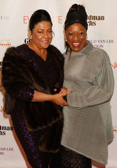Kathleen Battle - Arrivals at the Torch Ball with Jessye Norman