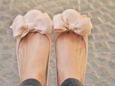 Ballerinas with cute bow