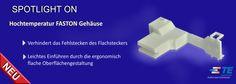 SHC GmbH - TE's Hochtemperatur-FASTON-Gehäuse - Ersatz für JST und ETCO
