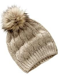Women's Cable-Knit Hats