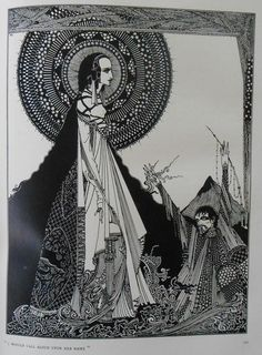 Geïllustreerd; Edgar Allan Poe - Tales of mystery and imagination. Illustrated by Harry Clarke - 1919