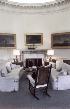 The Kennedy Oval Office, May 1962
