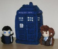 List of great free Doctor Who Crochet Patterns - many patterns to chose from