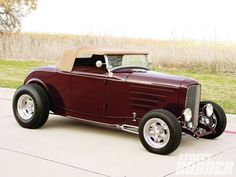 1932 FORD ROADSTER | 1932 Ford Roadster Right Side